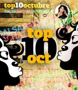 OCTUBRE2021 top10 DE MUSICA BACHATA la negra